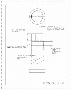 vent from ejector pin