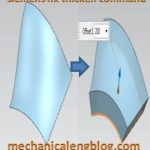 siemens nx modeling thicken command