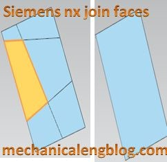 siemens nx modling join face command