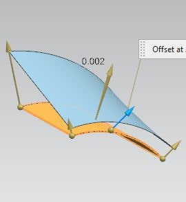 siemens nx surface variable offset command