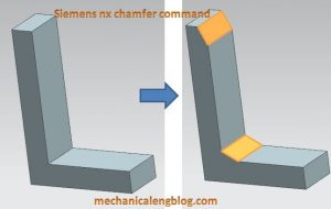 siemens nx tutorial chamfer command