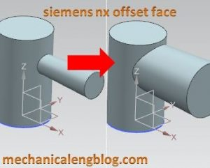 siemens nx tutorial offset face command (1)