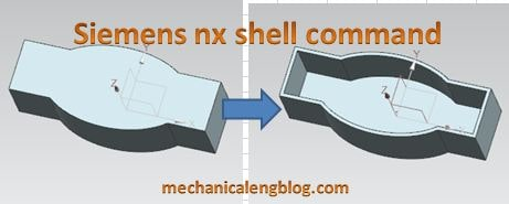 siemens nx tutorial shell command