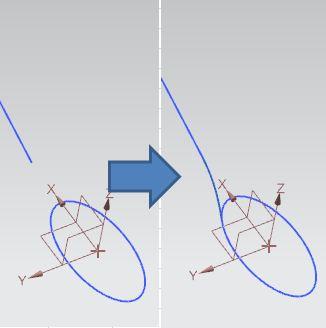 siemens nx circular blend curve command