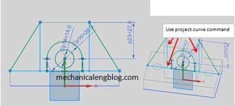 siemens nx extrude tutorial step 4