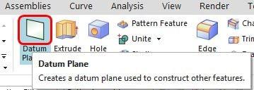 siemens nx modeling datum plane icon