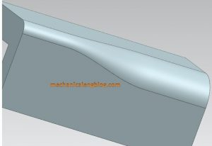 siemens nx modeling create an edge blend with variable radius result