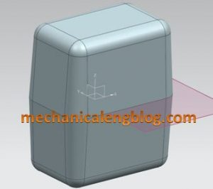 siemens nx modeling draft body command