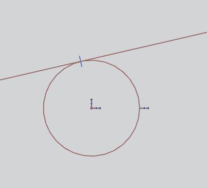 siemens nx sketching geometric constraints tangent