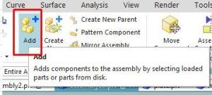 add component icon