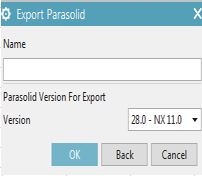 export nx file to parasolid file