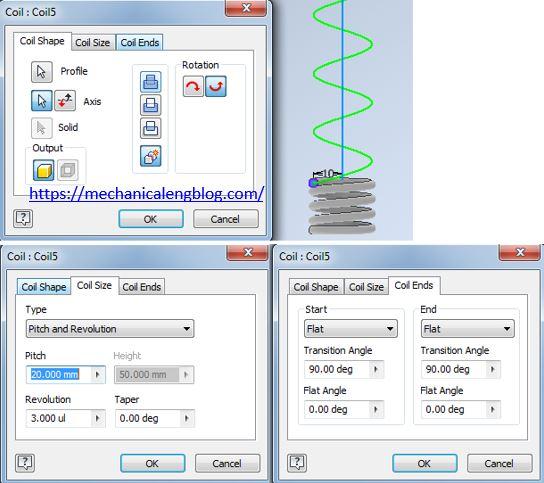 autodesk invendor design spring coil 2