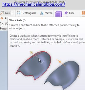 autodesk inventor axis icon