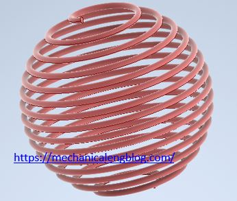 autodesk inventor how to design sphere spring