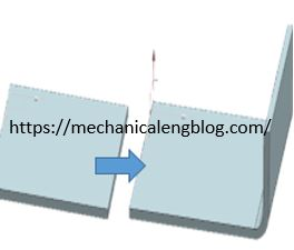 create new sheet metal flange in nx