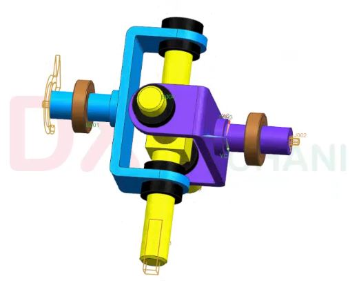 oldham coupling mechanism 3
