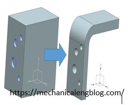 siemens nx create new sheet metal from solid