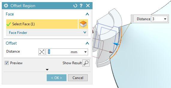 How to design fan in Siemens nx 10