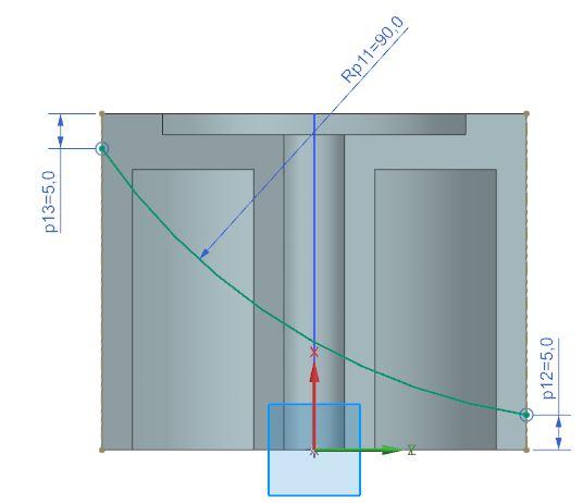 How to design fan in Siemens nx 3