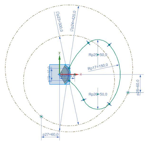 How to design fan in Siemens nx 7
