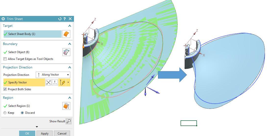 How to design fan in Siemens nx 8