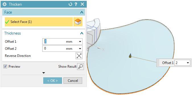 How to design fan in Siemens nx 9