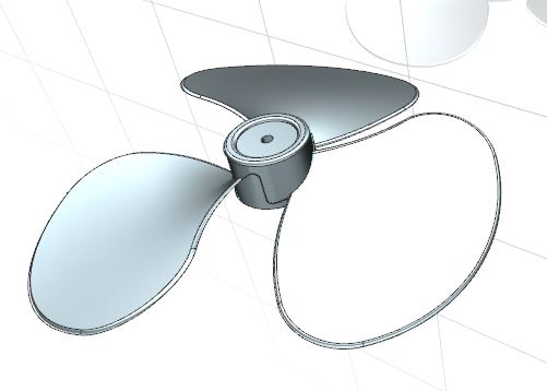 How to design fan in Siemens nx