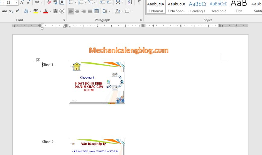 Convert from powerpoint to word document automatically 4