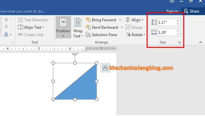 Resize, rotate, and move drawings in Word 2