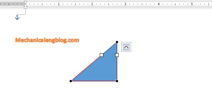 Transform shape in word 4