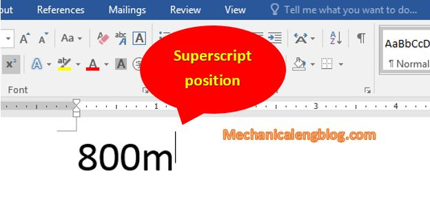 Write superscript and subscript in word manually 5
