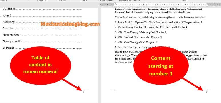add roman numerals in word 12