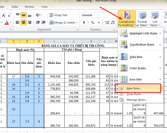 color blank cells in excel 1