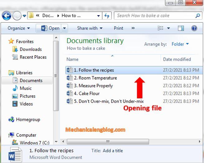 merge multiple word document file 1
