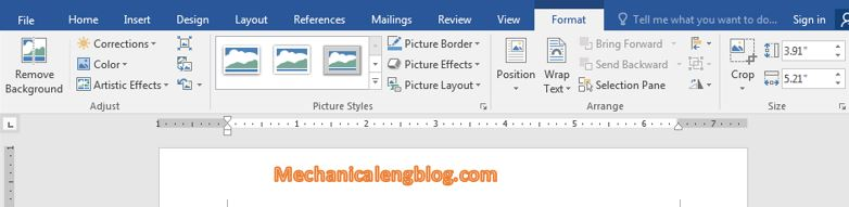 rotate image in Word 8