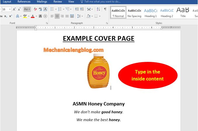Create borders in word using online images 2