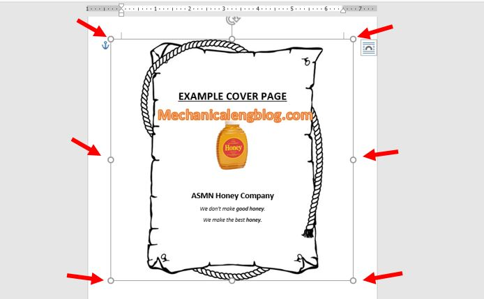 Create borders in word using online images 5