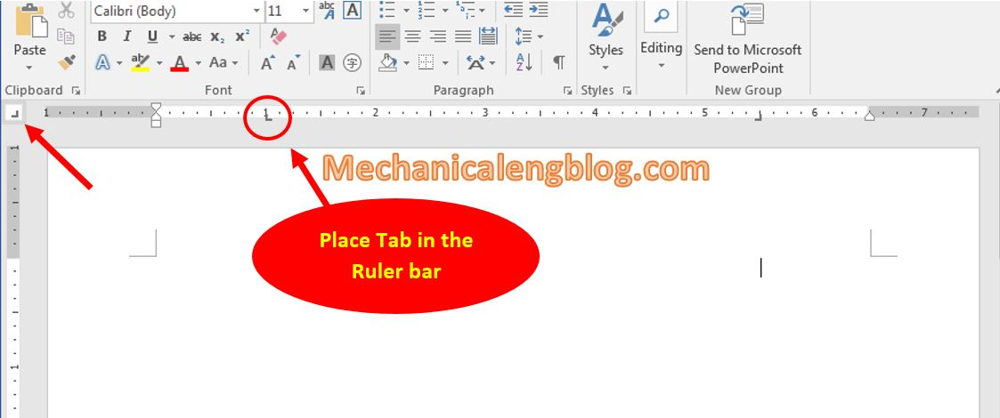 Types of Tab in ms word 2