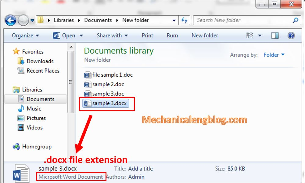 convert doc to docx Using VBA code 7