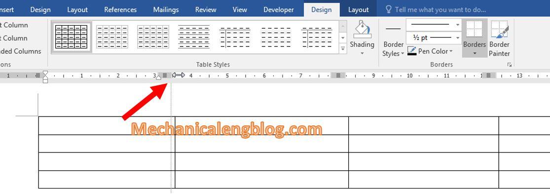 Change width for column 2