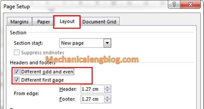 Paper size and margin alignment 4