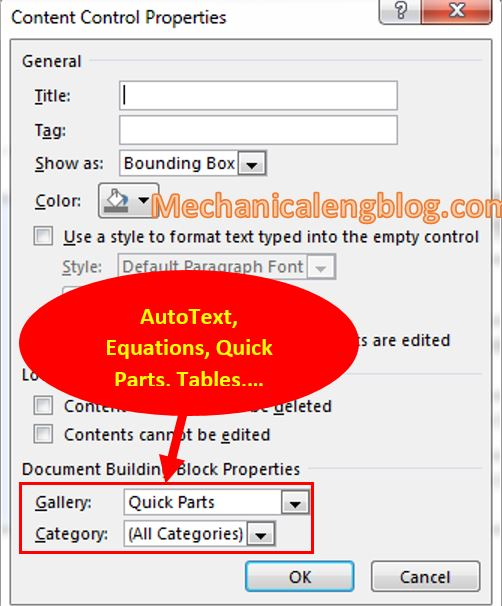 create a form in Word 6