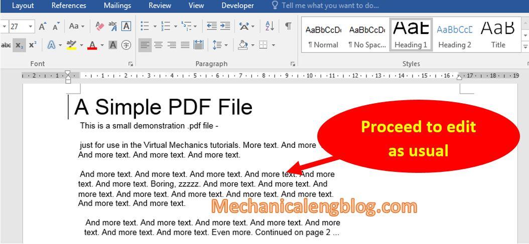 edit pdf in word 3