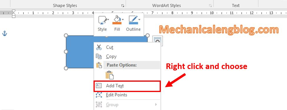 How to rotate text in Word 3
