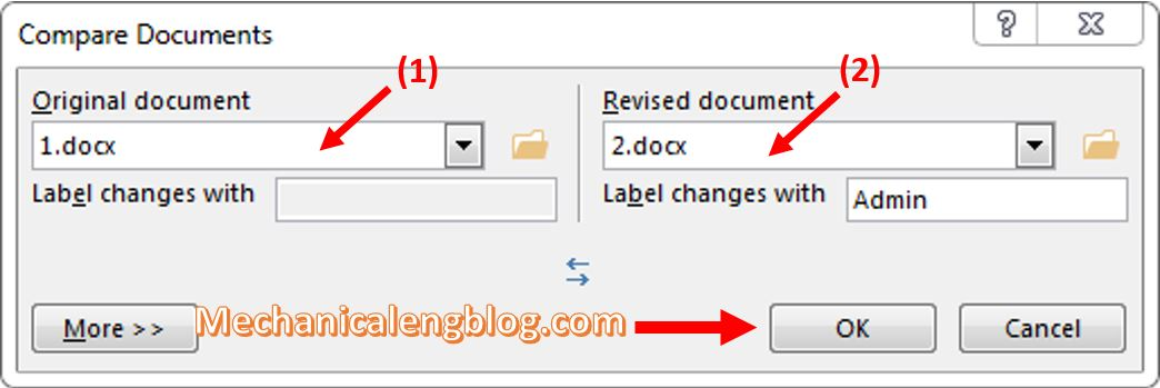 compare two word documents 2