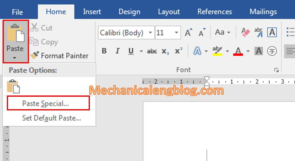 how to copy data from excel to word 3