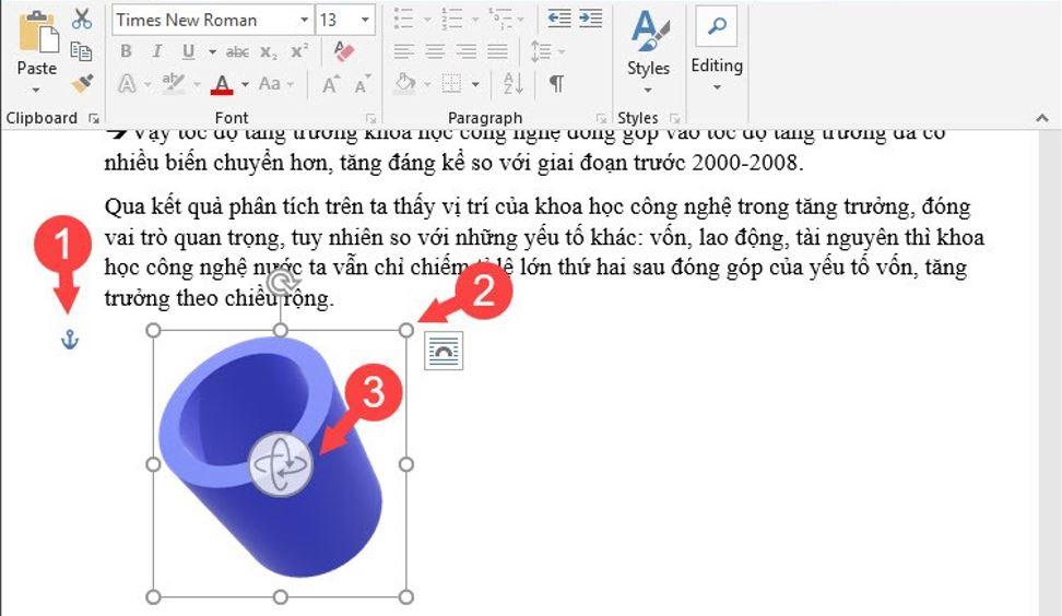 insert 3d model in Word 3