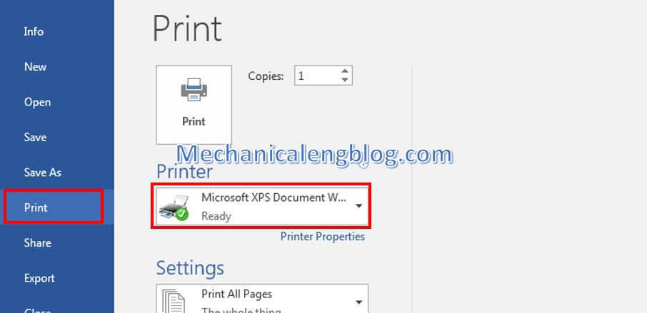 print multiple pages on one page word 1