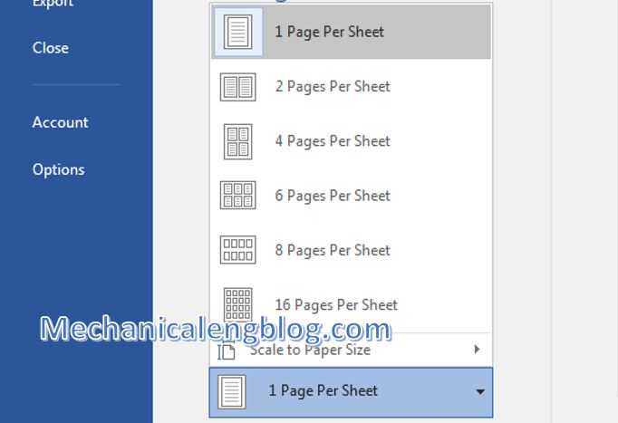 print multiple pages on one page word 3
