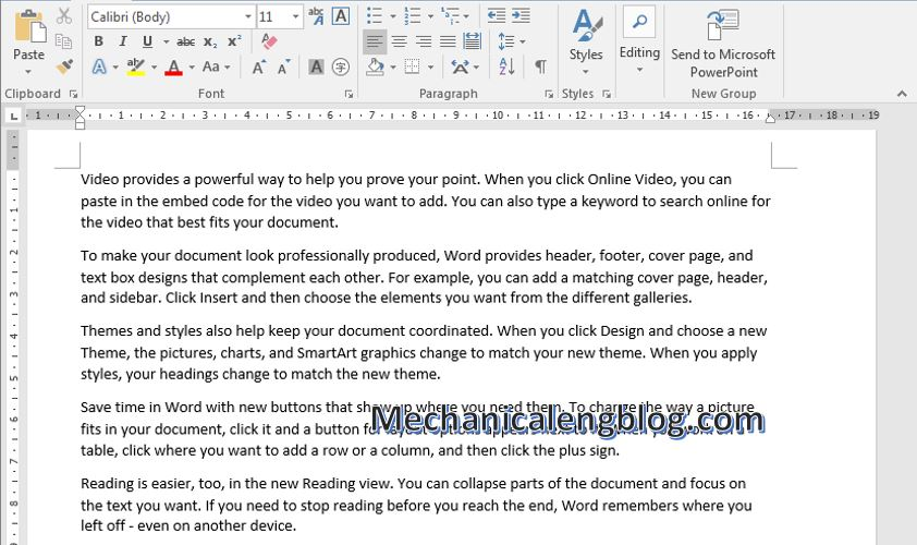 Create Dummy Text in Word 2